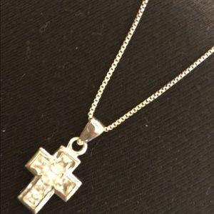 Silpada Sterling Silver Cross necklace